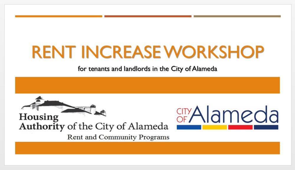 Rent Increase Workshop