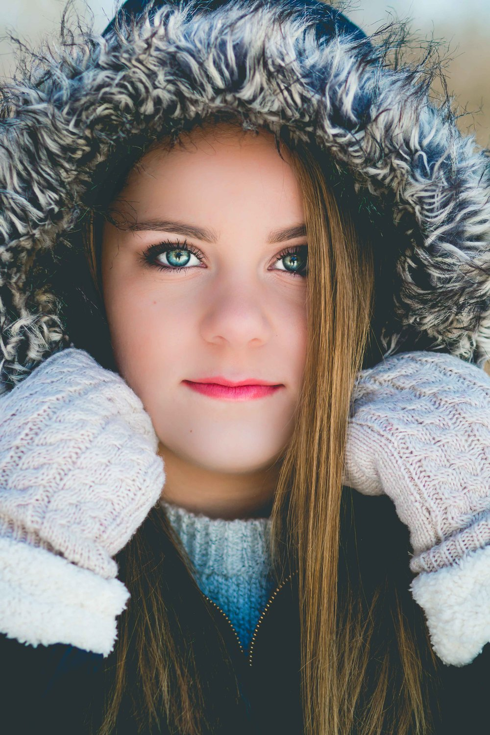 Senior Pictures Winter | Rogers