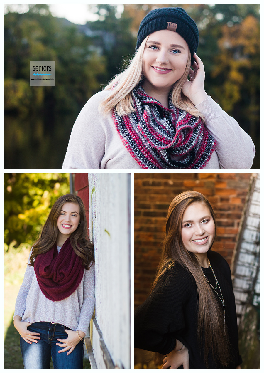 senior girl pictures with accessories, scarf, hat, necklace earrings minneapolis