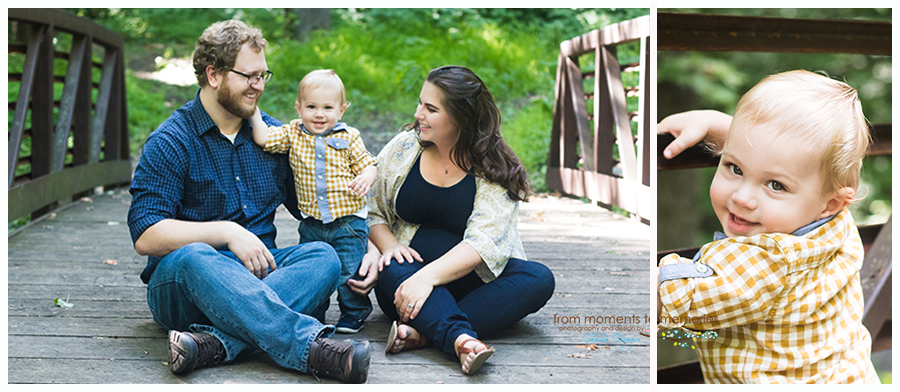 family lifestyle photography at Henry's Woods in Rogers, Minnesota