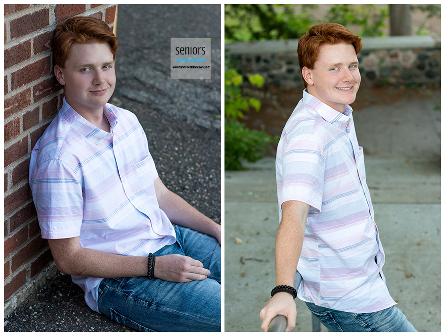 handke pit senior photography in downtown elk river minnesota