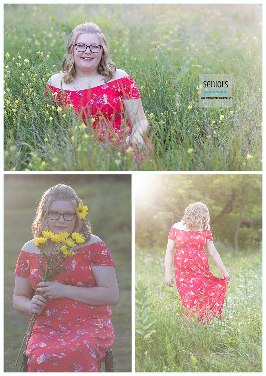senior-shoot-sunset-flowers