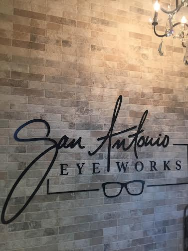 San Antonio Eyeworks Sign