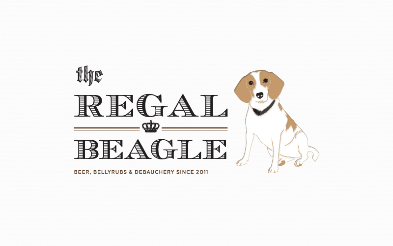 Regal Beagle | Custom Pet Portrait