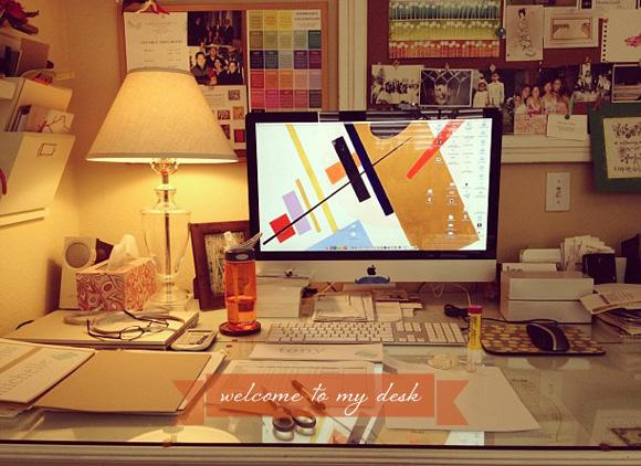 A Designer's / Crafter's Desk