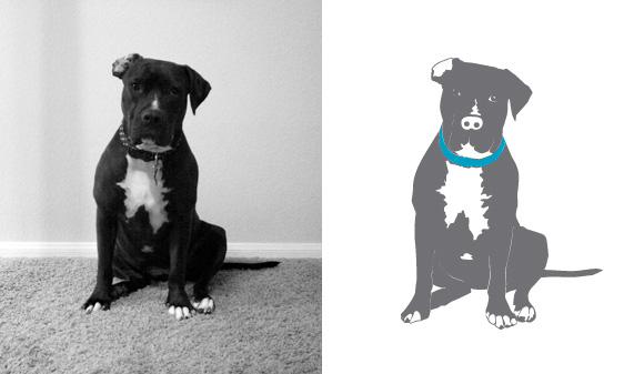 Nani's Custom Dog Portrait