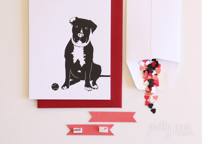 pit bull valentine's day card
