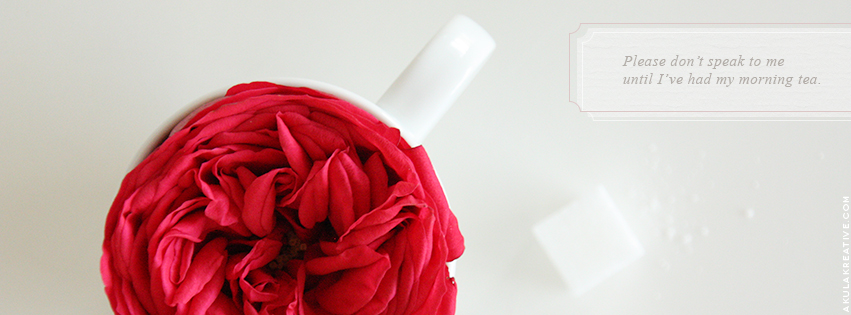Tea Lover Facebook Cover Photo // Free Download