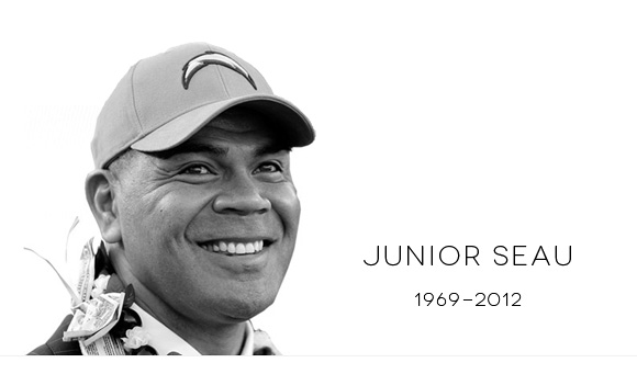 junior seau memorial event at qualcomm