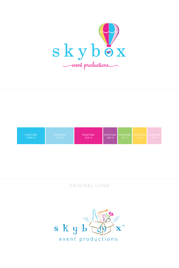 Skybox Event Planning Business Branding