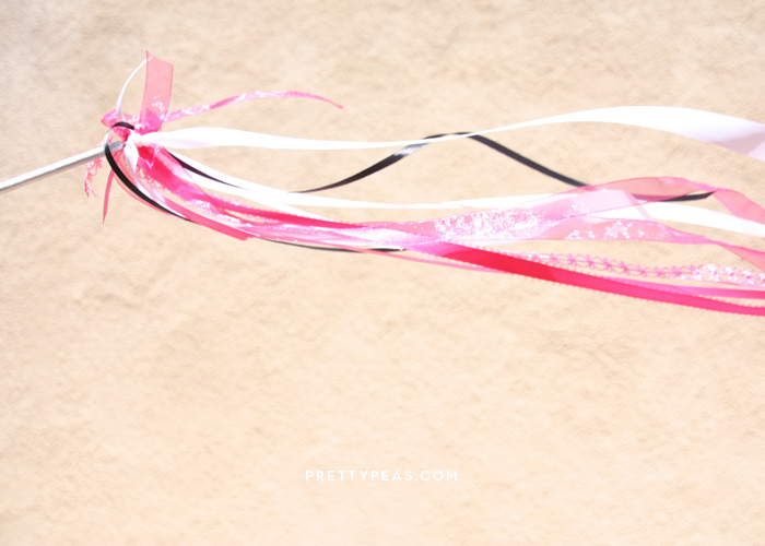 DIY Ribbon Wand | Pretty Peas Paperie