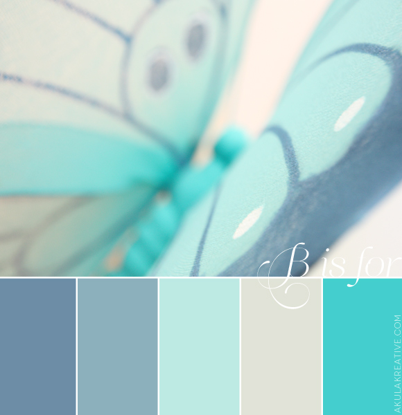 ocean blue color palette