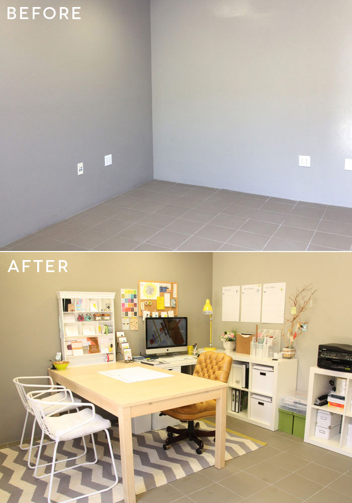 Design Studio | before and after