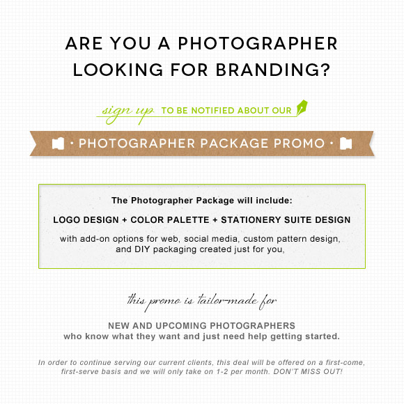 Photographer Branding Promotion