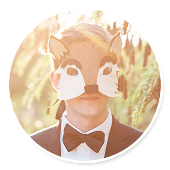 """What does the fox say?"" // DIY Fox Mask"