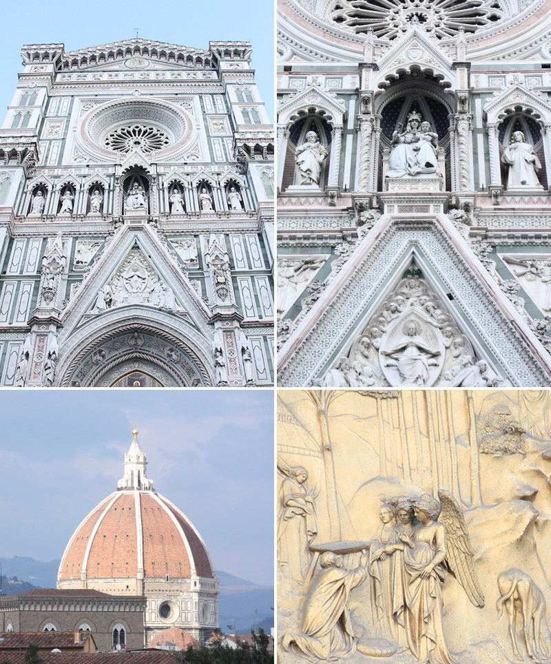 Details of the Florence Cathedral // Akula Kreative