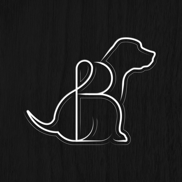 Big & Little Ranch Logo by Akula Kreative