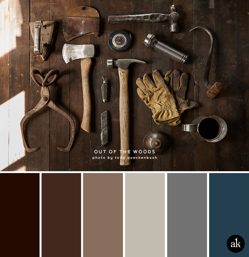 A Rust Inspired Color Palette Akula Kreative