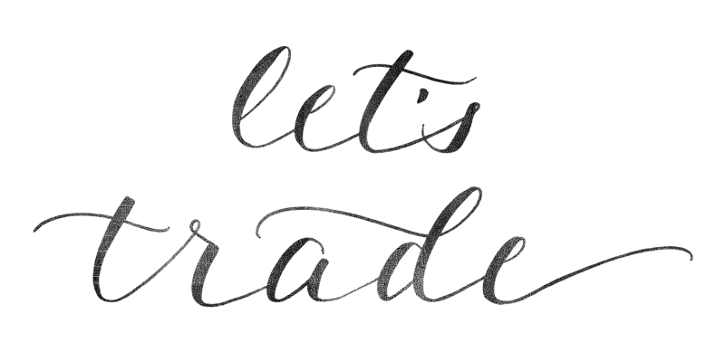 Let's Trade! | calligraphy doodle by Akula Kreative