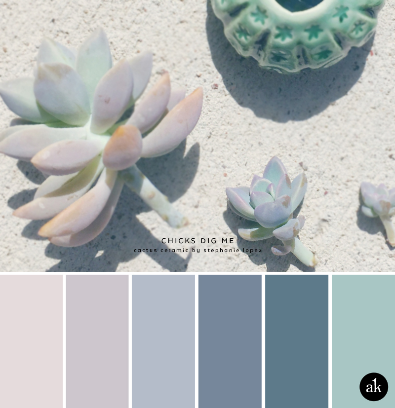 A Hens And Chicks Inspired Color Palette Akula Kreative