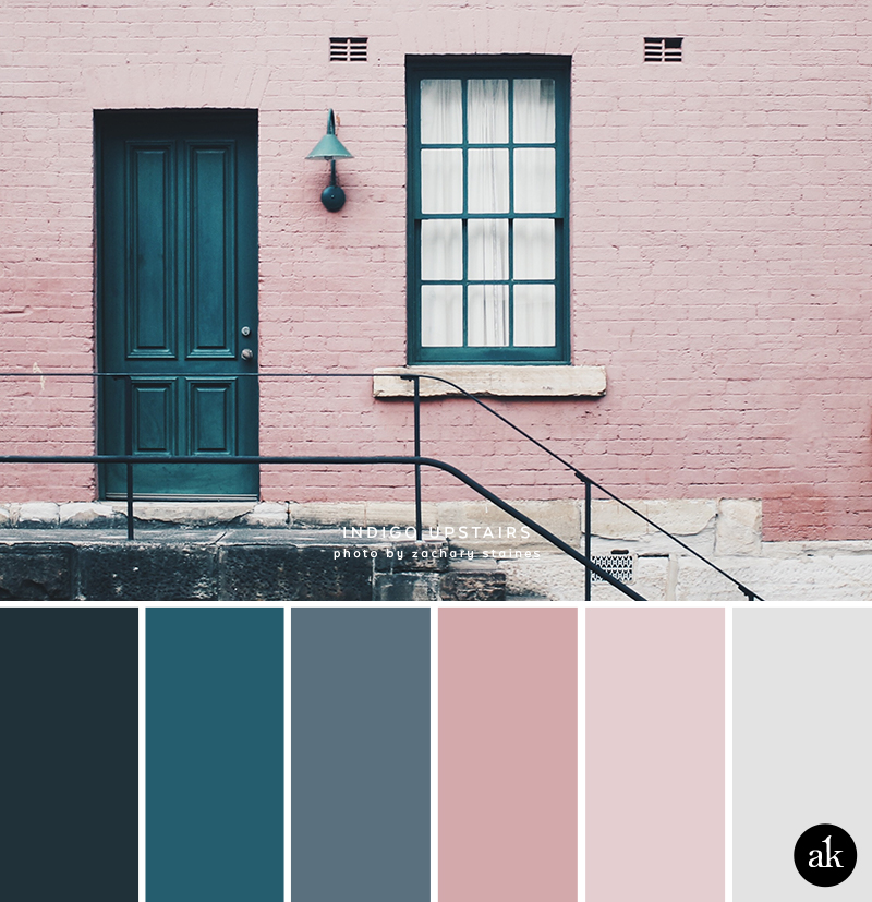 An Indigo Door Inspired Color Palette Akula Kreative