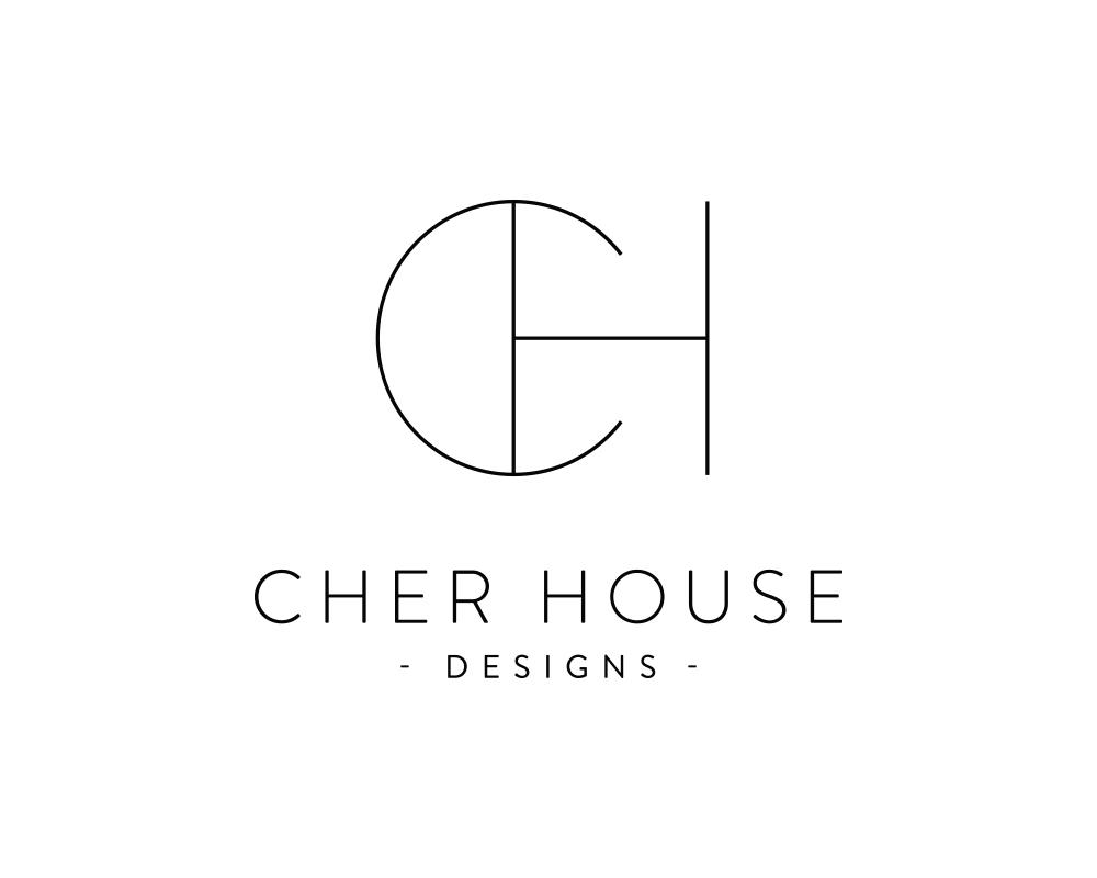 Cher House | Modern, Minimalist Logo Design by Akula Kreative
