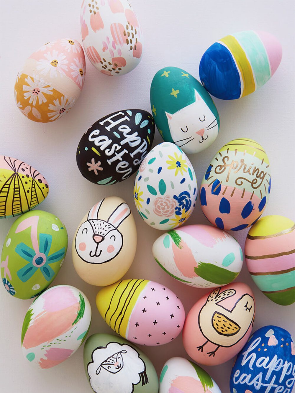 6 Creative Ways To Decorate Easter Eggs Akula Kreative