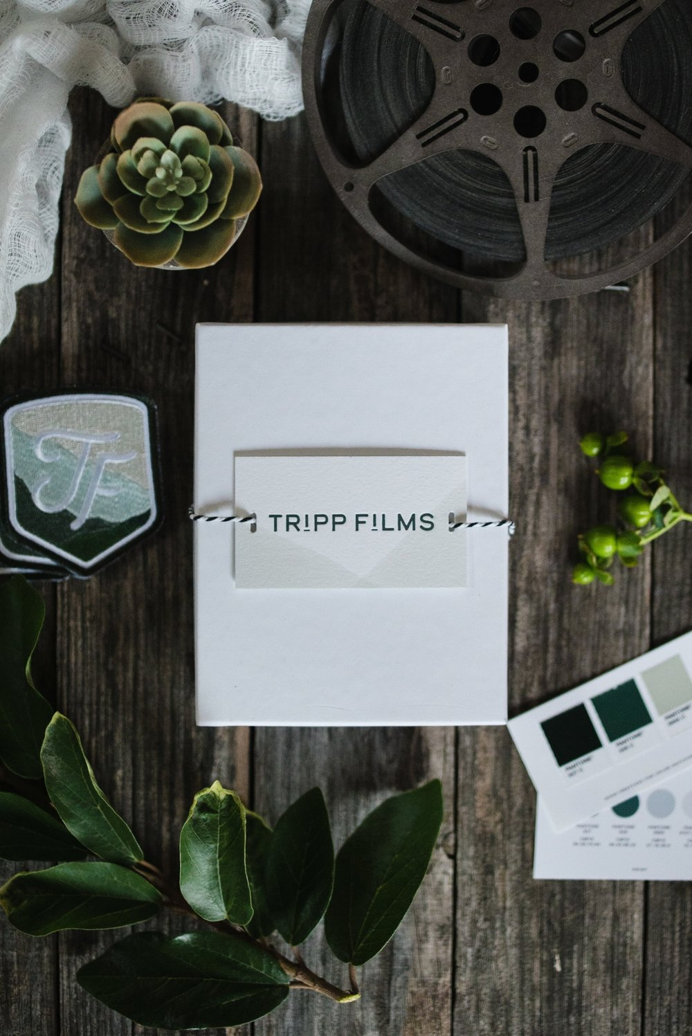 Tripp Films | Branding by Akula Kreative | Photo by Nikki Tripp