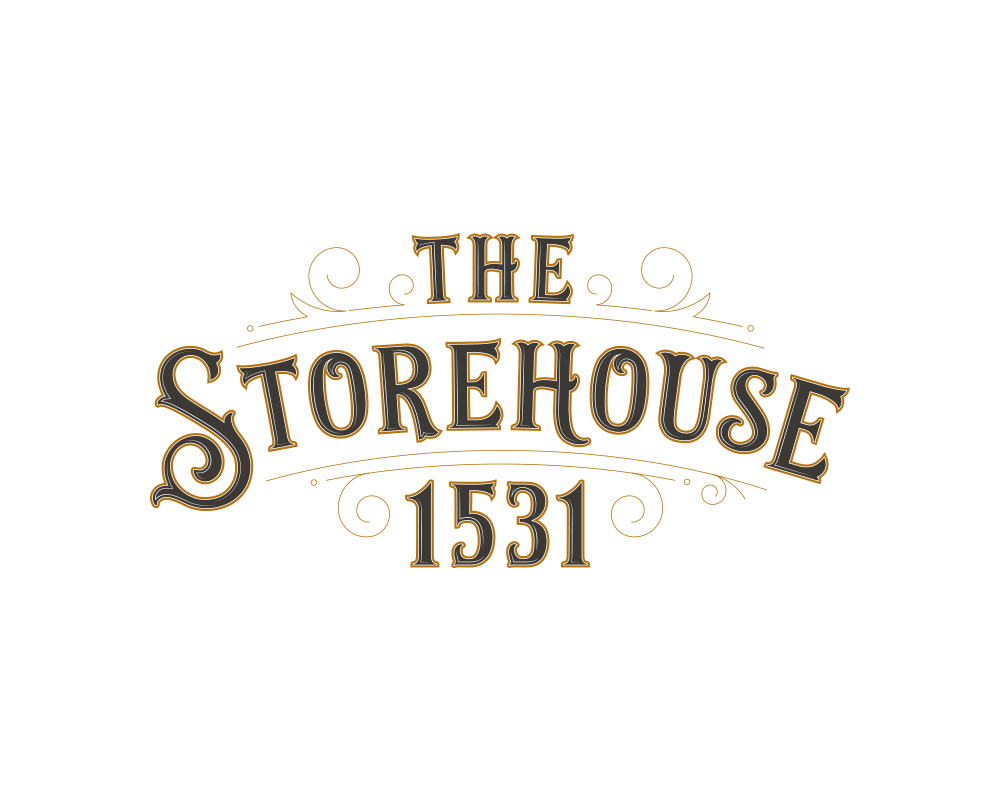 Hand-Lettered, Typographic, Vintage-Style Logo for The Storehouse 1531 | akulakreative.com