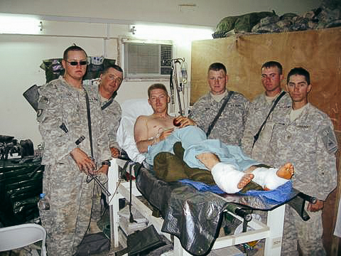 Revak was wounded on June 26, 2006 in Ramadi, Iraq.
