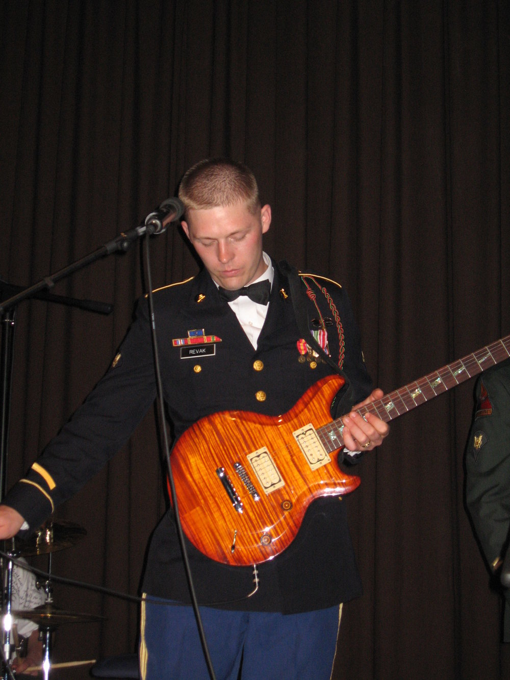 Josh Revak  performs at unit ball.JPG