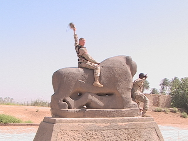 riding the lion of Babylon.JPG
