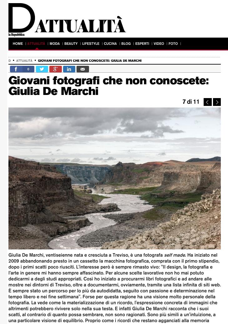 D - La Repubblica