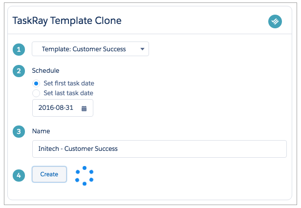 Template Cloning Component