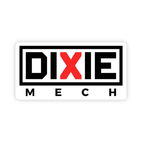 Dixie mech sticker
