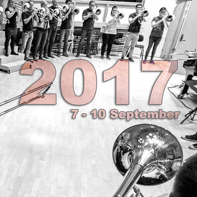 The ATF train is on route folks! Book your flights, and set aside september 7th thru 10th. Artists beeing announced this week :) #trombonefestival #arctictrombones #trombone #tromsø #trombones