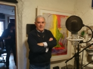 18.Theo Dorgan in the studio