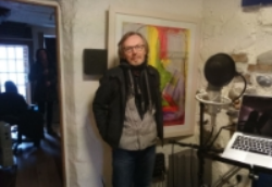 16.Lorcan Walshe in the studio