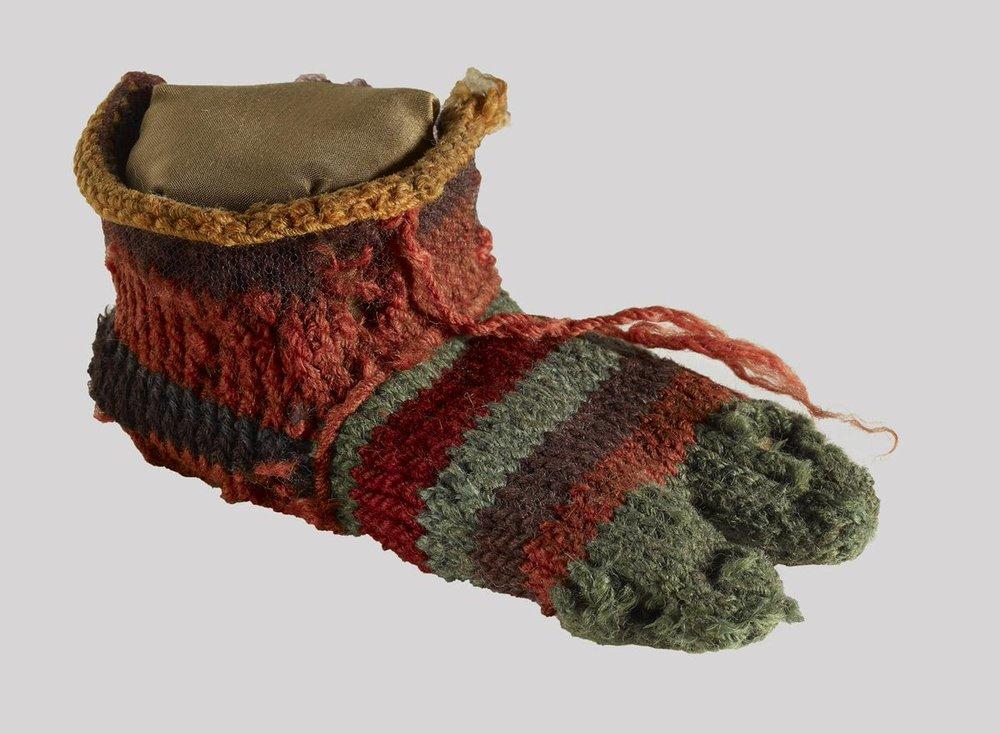 Egyptian child's sock.jpg