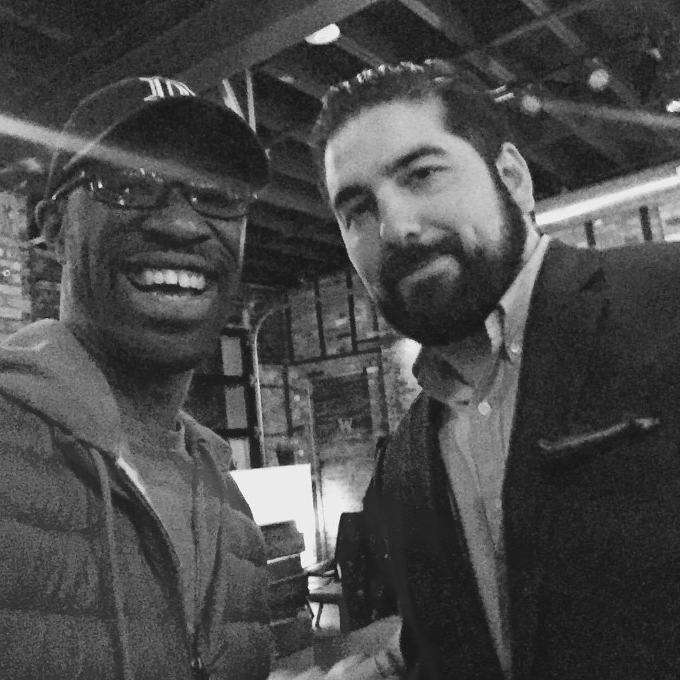 Hanging out with Yanni, owner of Golden Fleece & Exodus in Greektown Detroit. We always love stopping here for our bar tours!