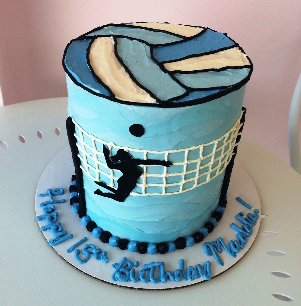 Volleyball Birthday Cake.JPG