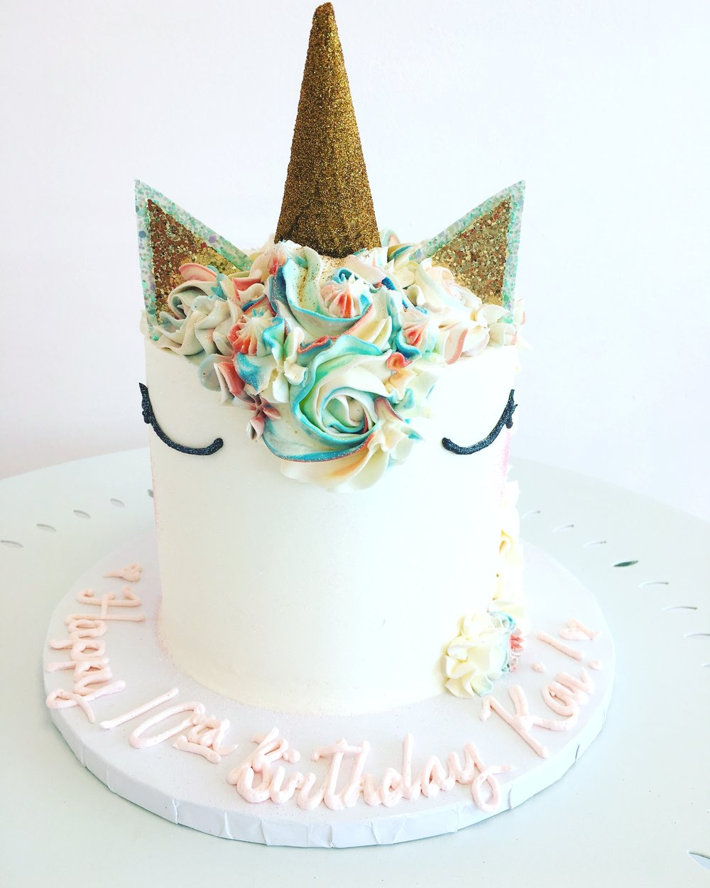 The perfect unicorn cake.JPG