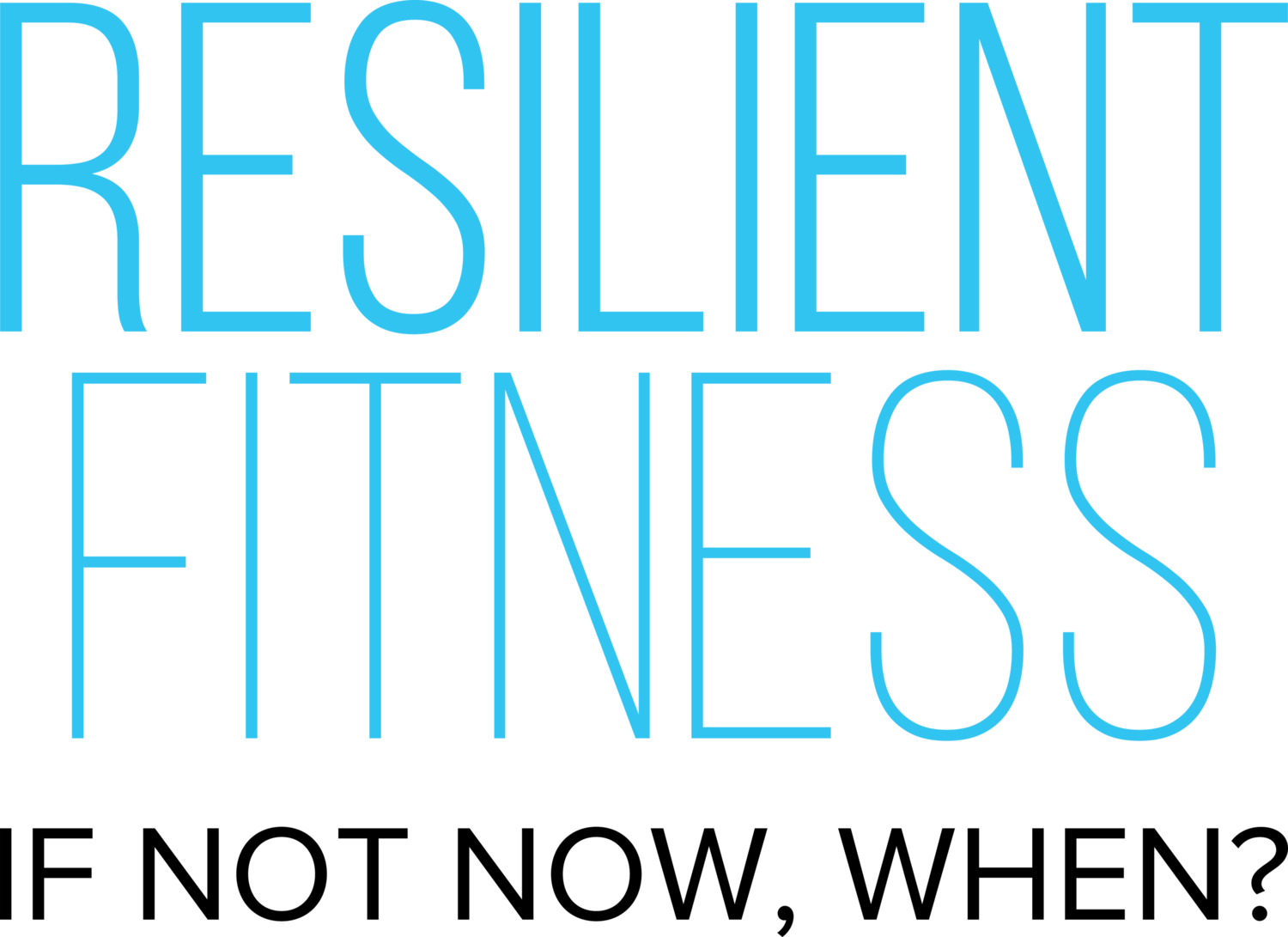 Resilient Fitness inc