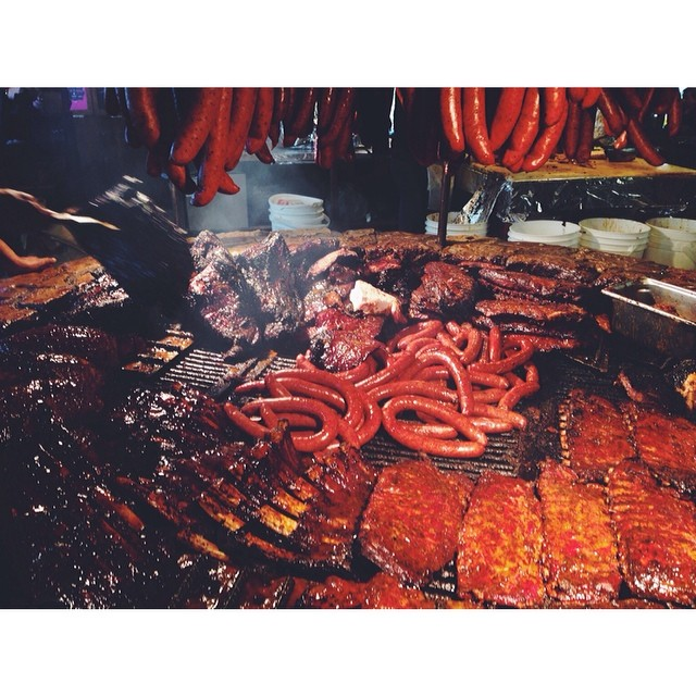 That's a lot of near. #meat #bbq #texas #saltlick (at The Salt Lick)