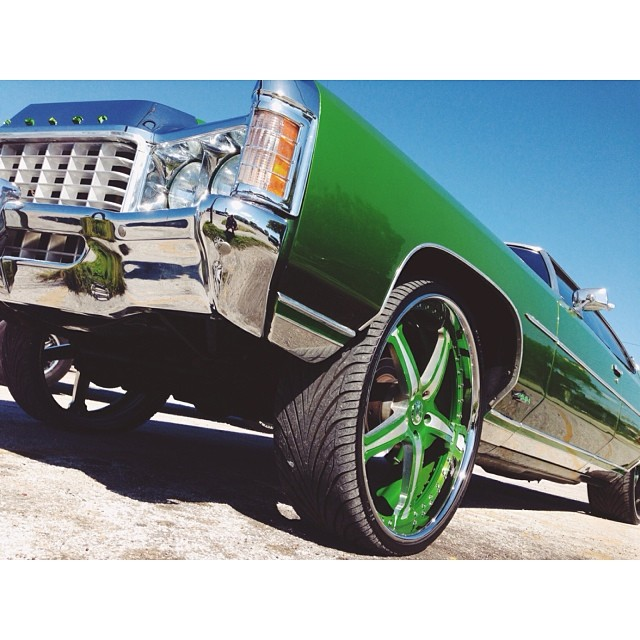 Double Dubs #miami #hooptie #dubs #swag #florida #green