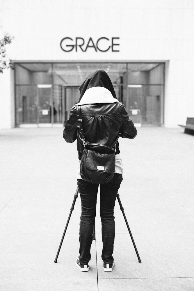 Getting used to 4x5 outside of ICP. Manhattan, New York. October 2012