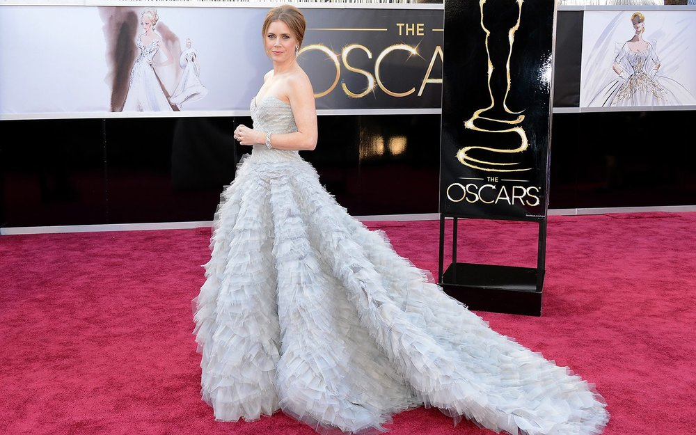 Image via Parade, Amy Adams at the Oscars