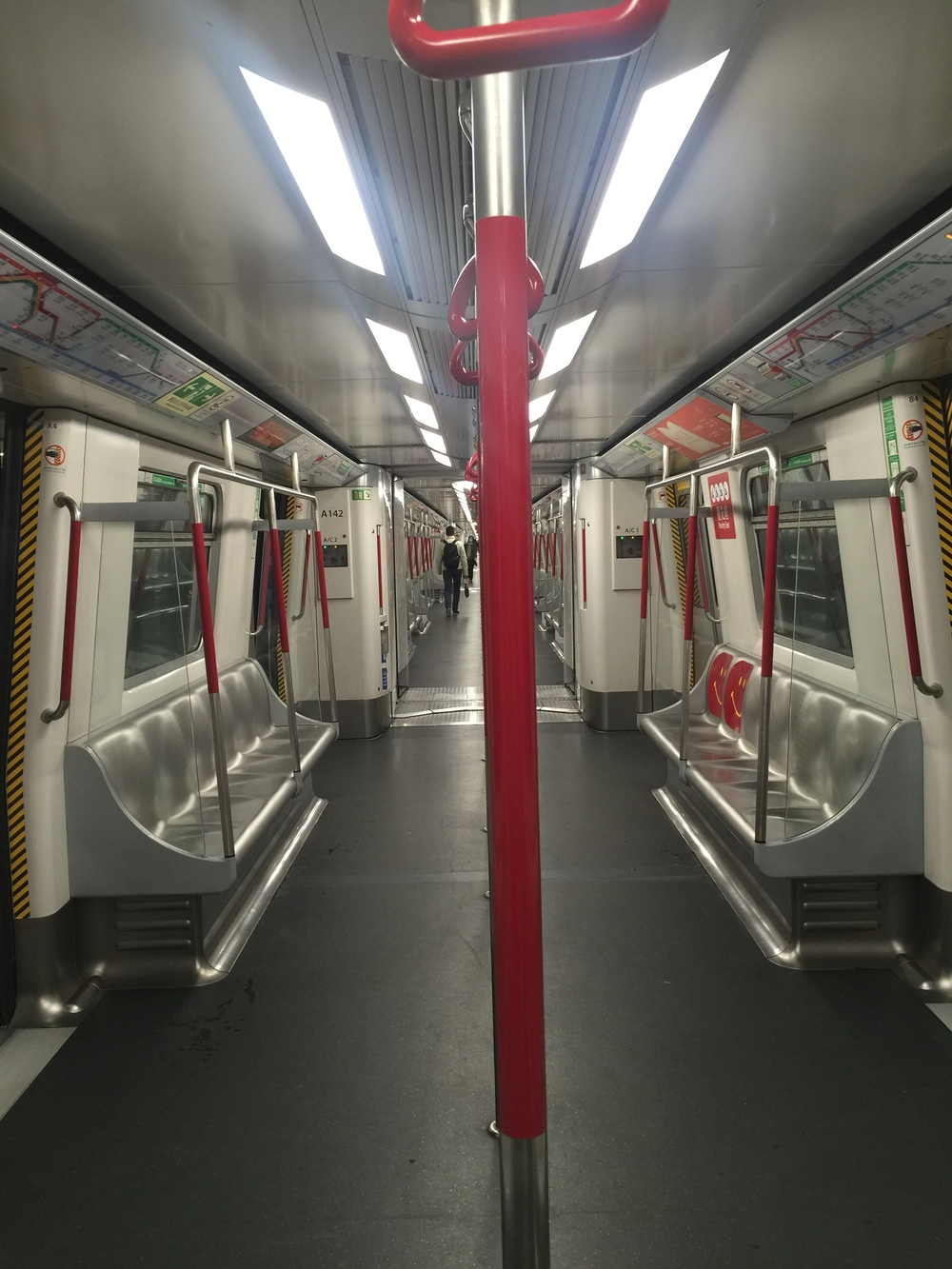 Hong Kong's MTR: Reliable, efficient, clean and quiet. Take notes NYC!