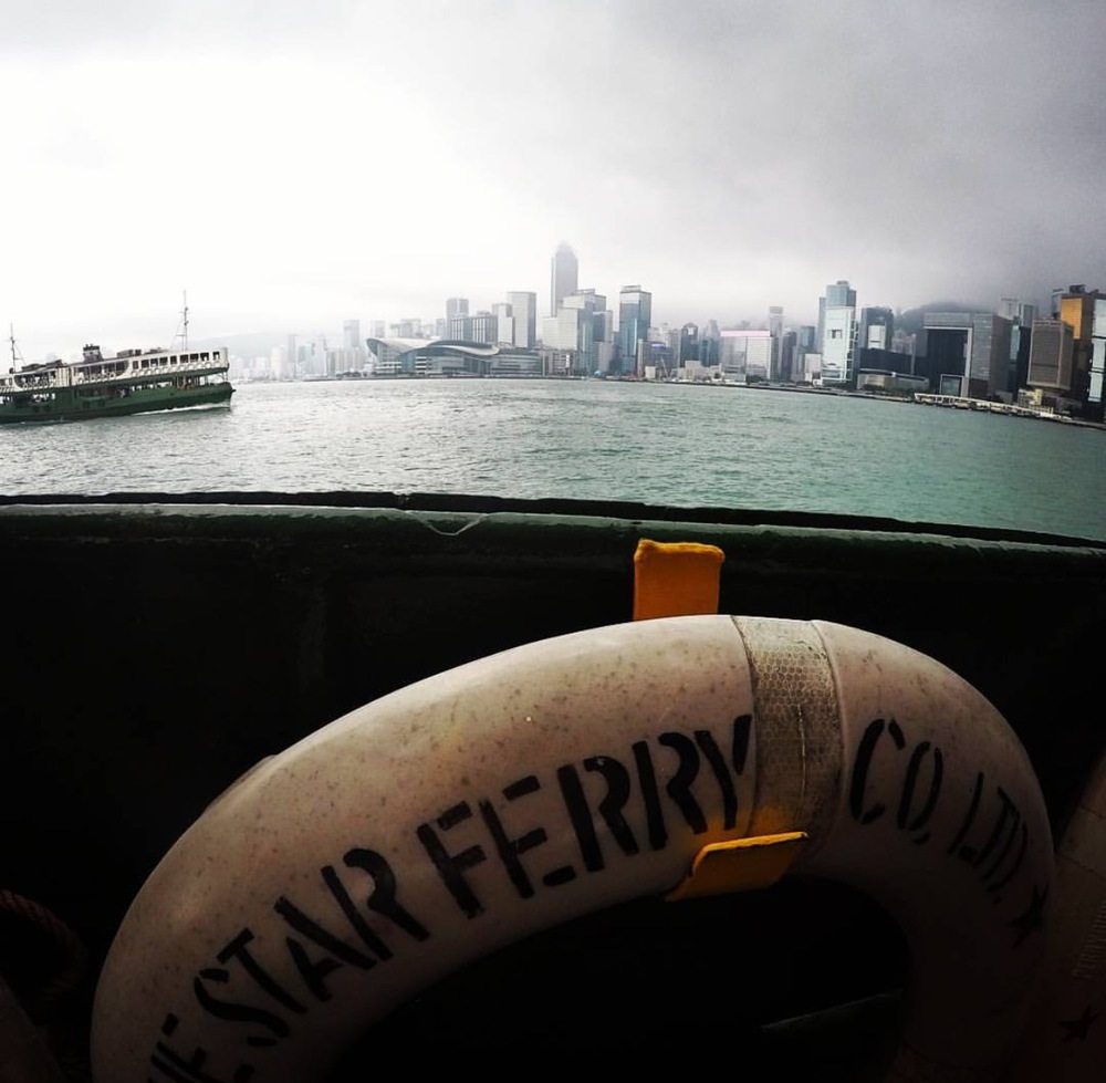 Ferry Ride with Star Ferry