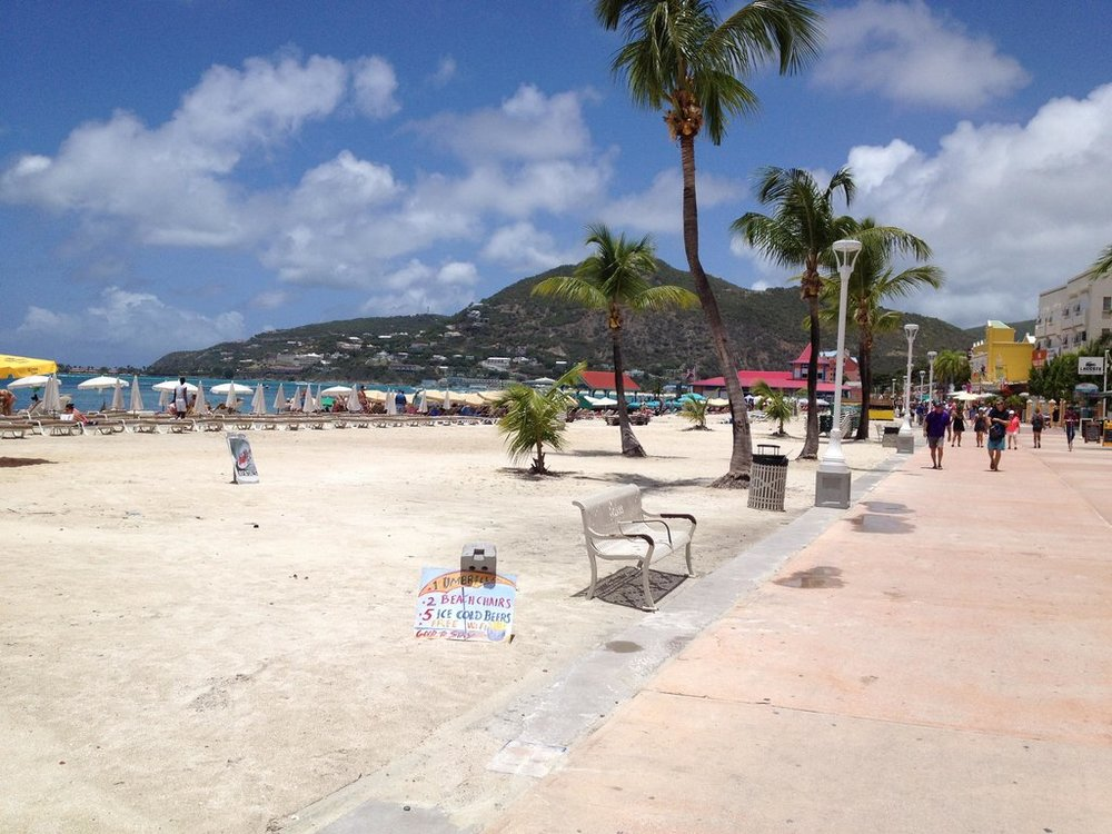 Boardwalk in Philipsburg
